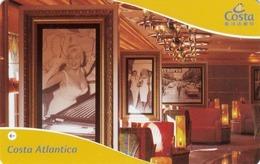 ITALY Cabin Keycard - COSTA Atlantica , Used - Hotelkarten