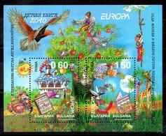 Hoja Bloque De Bulgarisa Nº Yvert 269 ** TEMA EUROPA - Bulgaria