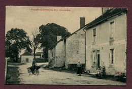 """VILLARS-EN-AZOIS  (52) : """" GRANDE RUE """"  (moto - Triporteur) - Autres Communes"""
