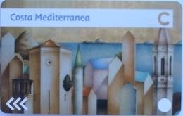 ITALY Cabin Keycard - COSTA MEDITERRANEA ,used - Hotelkarten