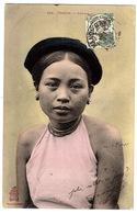 VIET NAM - TONKIN - FEMME - Carte Colorisée - Ed. P. Dieulefils, Hanoi - Vietnam