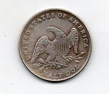 USA : 1/2 Dollar 1838 - Émissions Fédérales