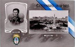 ARGENTINE - Pueyrredon - Plaza Victoria - Centenario 1810 -1910 - Argentinien