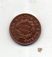 USA : 1 Ct 1854 - Émissions Fédérales