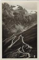 73  La Tarentaise   Val D'isere  Route Du Col De L'iseran  Les Lacets  Et Glaciers Du Massif De Tsauteleina - France