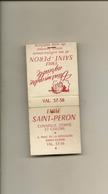 Pochette Allumettes LASTAR De 1959 Neuve Et Pleine:Emile SAINT-PERON Coiffeur  LA 2262 - Boites D'allumettes