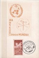 Postal History: Brazil Commemorative Card / Folhinha Comemorativa - Climate & Meteorology