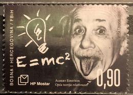 Bosnia And Herecegovina, HP Mostar 2016 , Mi: 427 (MNH) - Albert Einstein