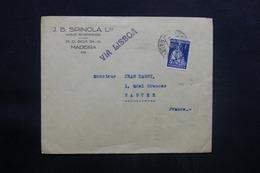 PORTUGAL - Enveloppe Commerciale De Madeira  Pour La France En 1934 ,affranchissement Plaisant - L 41478 - Funchal