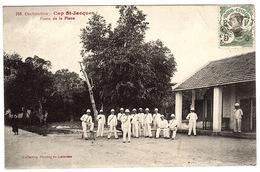 VIET NAM - COCHINCHINE - CAP ST-JACQUES - Vũng Tàu - Poste De La Place - Ed. Coll. Poujade De Ladevèze - Viêt-Nam