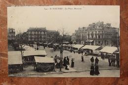 SAINT NAZAIRE (44) - LE PLACE MARCEAU - Saint Nazaire