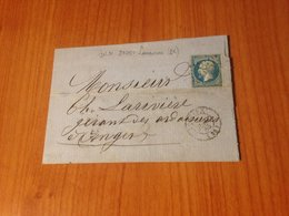 LOUVIERS  ( 26)  Pc 2105- LAC 1863   ( Port à Ma Charge ) - 1849-1876: Klassieke Periode