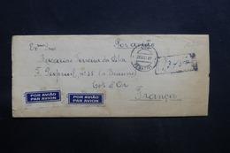 PORTUGAL - Enveloppe De Penafiel En Recommandé Pour La France En 1947 ,affranchissement Plaisant Au Verso - L 41481 - 1910-... République