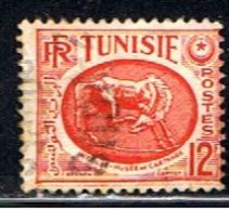 TUN 179 // YVERT 343 A // 1950-53 - Tunisia (1888-1955)