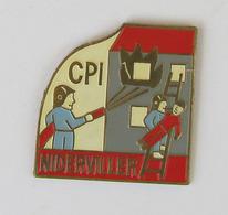 1 Pin's Sapeurs Pompiers De NIDERVILLER (MOSELLE-57) - Pompiers