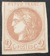 Emission De Bordeaux N° 40B Neuf (*) Sans Gomme   Etat Bien - 1870 Uitgave Van Bordeaux