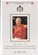 Orden De Malta Hb F560 - Malta (la Orden De)