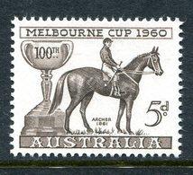 Australia 1960 100th Melbourne Cup Race Commemoration MNH (SG 336) - 1952-65 Elizabeth II : Pre-Decimals
