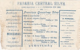 PORTUGAL - COVILHÃ   - COMMERCIAL DOCUMENT - FARMACIA CENTRAL SILVA 1928 - Portugal