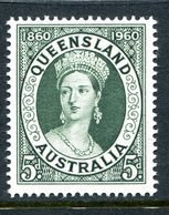 Australia 1960 Centenary Of First Queensland Postage Stamp MNH (SG 337) - Mint Stamps