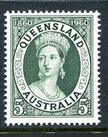 Australia 1960 Centenary Of First Queensland Postage Stamp MNH (SG 337) - 1952-65 Elizabeth II : Pre-Decimals