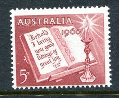 Australia 1960 Christmas MNH (SG 338) - 1952-65 Elizabeth II : Pre-Decimals