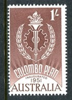 Australia 1961 Colombo Plan MNH (SG 339) - 1952-65 Elizabeth II : Pre-Decimals