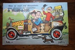 Carte à Système Villard De Lans - Villard-de-Lans