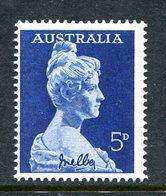 Australia 1961 Birth Centenary Of Dame Nelly Melba MNH (SG 340) - 1952-65 Elizabeth II : Pre-Decimals