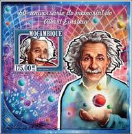 Mozambique 2015 Albert EINSTEIN MNH - Albert Einstein
