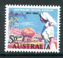 Australia 1962 50th Anniversary Of Australian Inland Mission MNH (SG 343) - 1952-65 Elizabeth II : Pre-Decimals