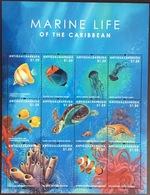 Antigua 2012 Marine Life Turtles Sheetlet MNH - Mundo Aquatico