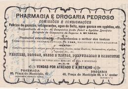PORTUGAL - COVILHÃ   - COMMERCIAL DOCUMENT - PHARMACIA  E DROGARIA PEDROSO - Portugal