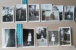 MONDOSORPRESA, ( FT2) LOTTO 12 MINI FOTOGRAFIE ORIGINALI LA MORRA 1929/1931 - Album & Collezioni