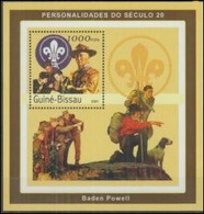 Guinee Bissau 2001 Lord Baden Powel Scoutisme Dog Chien  MNH - Mao Tse-Tung
