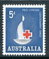 Australia 1963 Red Cross Centenary MNH (SG 351) - 1952-65 Elizabeth II : Pre-Decimals