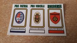 Figurina Calciatori Panini 1978/79  - 570 Pro Patria/Pro Vercelli/Rhodense - Panini