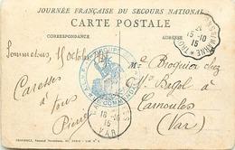 Themes Div-ref DD149-cachets - Cachet - Guerre 1914-18-illustrateurs - Dessin Illustrateur -cachet 1er Groupe De 2 - - Marcophilie (Lettres)