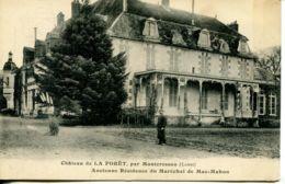 N°75271 -cpa Château De La Forêt Par Montcresson -résidence Du Maréchal Mac Mahon- - Other Municipalities