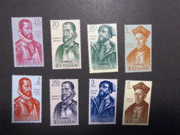 Spanien Mi. 1346/53 ** - 1931-Heute: 2. Rep. - ... Juan Carlos I