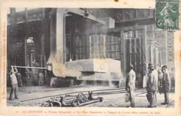 INDUSTRIE - Usines SCHNEIDER - Le CREUSOT (71) Le Gros Laminoir (lingot De 50.000 Kg) - CPA Saône Loire (usine Factory ) - Industry