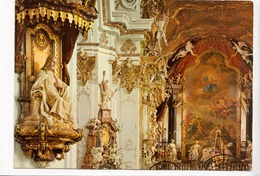 Switzerland, Stiftskirche Einsiedeln, Christusthron Und Hochaltar, Unused Postcard [23426] - SZ Schwyz