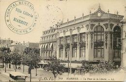 Themes Div-ref DD145-cachets - Cachet - Guerre 1914-18-biarritz - Cachet Hopital Benevole No 104 Bis -villa Liliteia - - WW I
