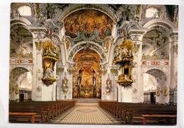 Einsiedeln, Switzerland, Stiftskirche, Kirchenschiff Mit Chor, Postcard [23427] - SZ Schwyz