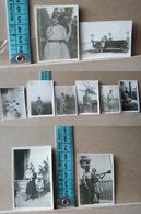 MONDOSORPRESA, ( FT3) LOTTO 10 MINI FOTOGRAFIE ORIGINALI ANNUNZIATA  E LA MORRA 1928/1930 - Album & Collezioni