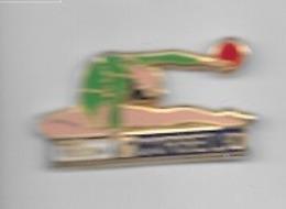 Pin's  Sport  Gymnastique  CORBEIL  92  Avec  FRANCE  TELECOM  Signé  ARTHUS  BERTRAND - Gymnastique