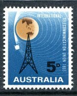 Australia 1965 ITU Centenary MNH (SG 376) - 1952-65 Elizabeth II : Pre-Decimals