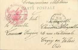 Themes Div-ref DD141-cachets - Cachet - Guerre 1914-18-cachet Depot Du Service Automobile -detachement D Orleans -loiret - WW I