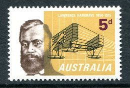 Australia 1965 50th Death Anniversary Of Lawrence Hargrave MNH (SG 379) - Mint Stamps