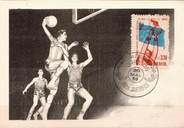 Brazil Maximum Card - Basketball
